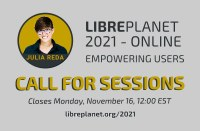 LibrePlanet 2021: Join us online on March 20 & 21 with keynote Julia Reda