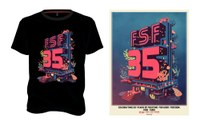FSF 35 years: Limited edition T-shirt and poster for sale