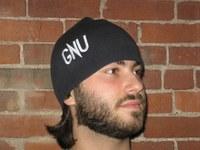 GNU Press debuts GNU beanies!