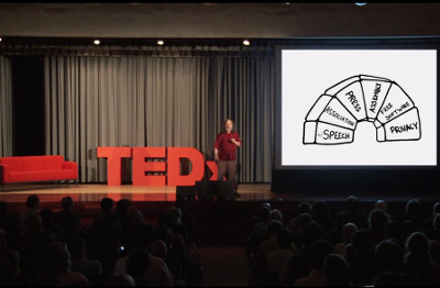"""Richard Stallman's TEDx video: """"Introduction to Free Software and the Liberation of Cyberspace"""""""